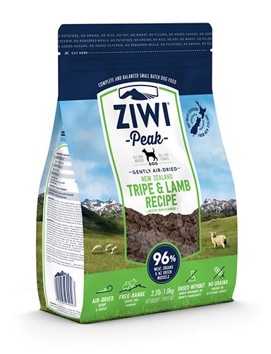 ZiwiPeak(ジウィピーク)エアドライドッグフード トライプ&ラム