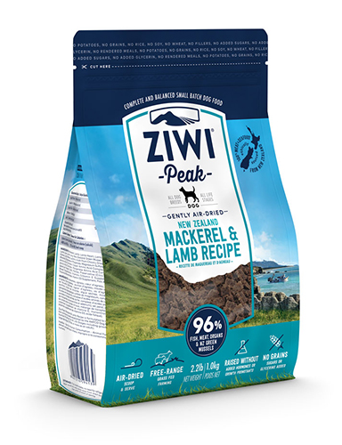 ZiwiPeak(ジウィピーク)エアドライドッグフード マッカロー&ラム
