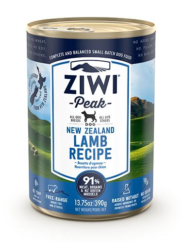 ZiwiPeak(ジウィピーク)ドッグ缶 ラム