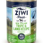 ZiwiPeak(ジウィピーク)ドッグ缶とライプ&ラム
