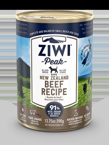 ZiwiPeak(ジウィピーク)ドッグ缶 グラスフェッドビーフ