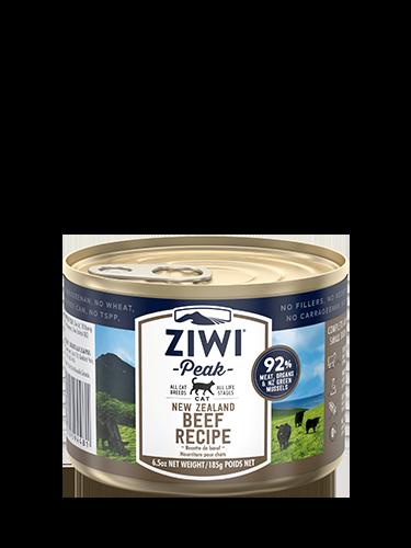 ZiwiPeak(ジウィピーク)キャット缶 グラスフェッドビーフ
