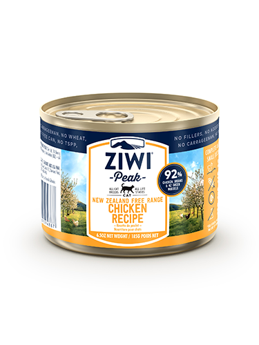 ZiwiPeak(ジウィピーク)キャット缶 フリーレンジチキン